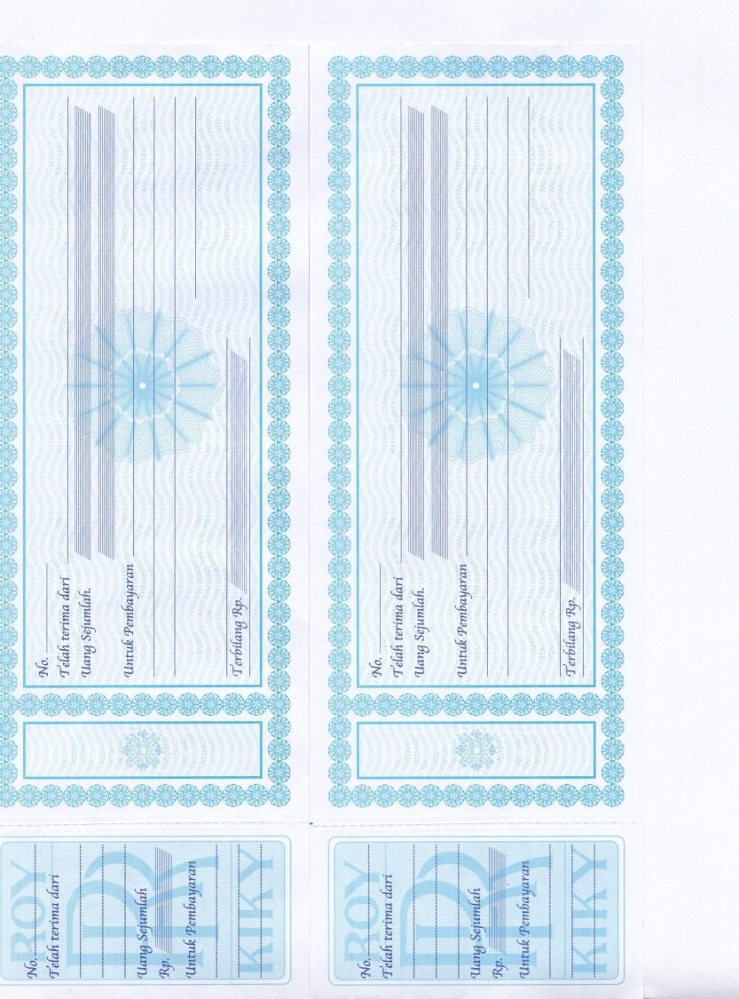 Cara Manual Mencetak Kwitansi Di Pc Format Excel Widiyawati89